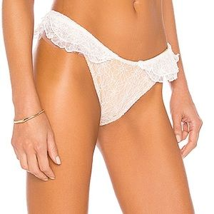 X V Chapman Lily Bikini Bottom Beach Riot Size XS